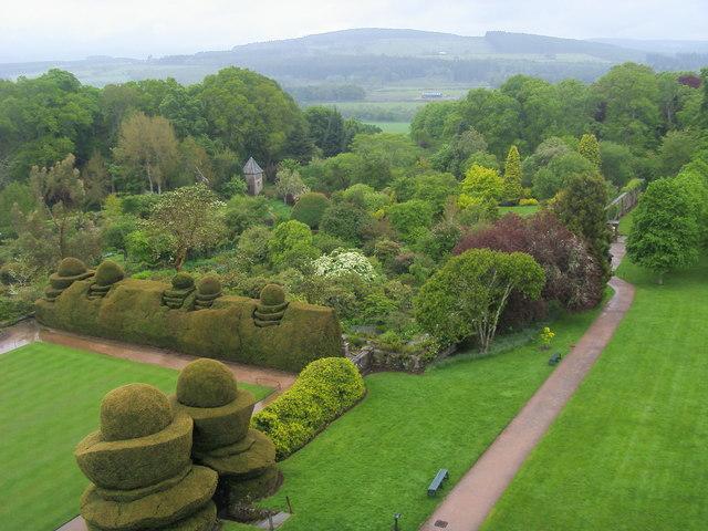 Crathes Castle Walled Garden