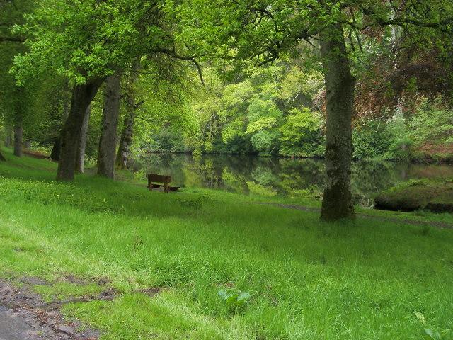 Crathes Castle Loch