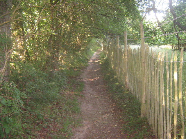 Footpath towards Penshurst