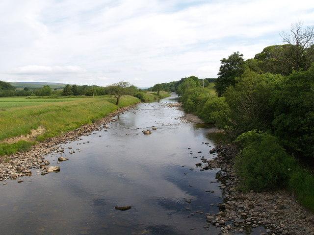 Liddel Water at Kershopefoot Bridge