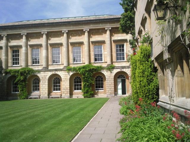 Back Quad, Oriel College, Oxford