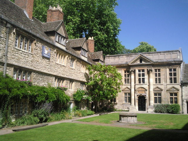 Front Quad, St Edmund Hall, Oxford