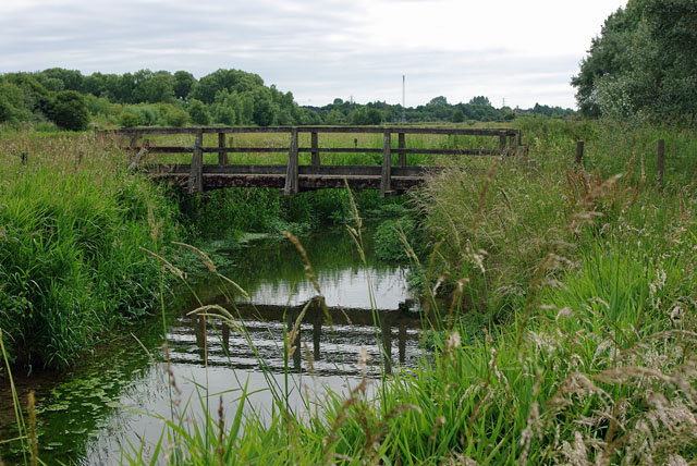 Footbridge over the Black Ditch