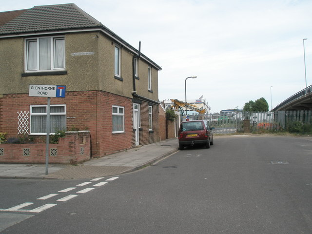 Junction of Burrfields Road and Glenthorne Road