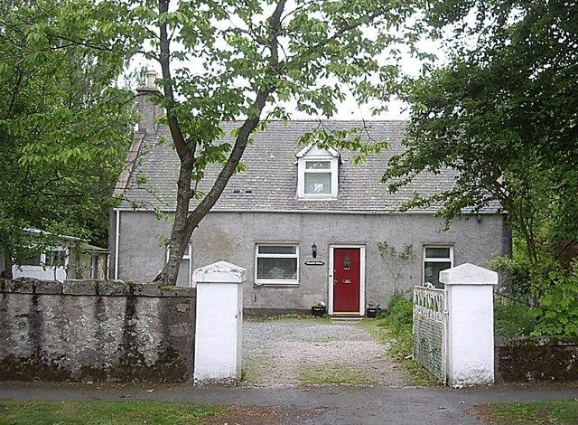 Cottage on William Street, Torphins