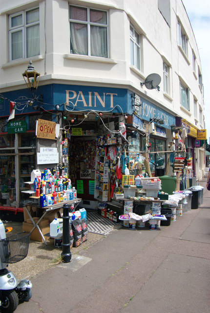 Paint and hardware shop, Leigh-on-Sea, Essex