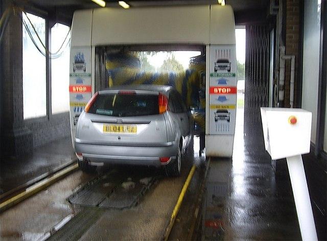 Automated car wash facility