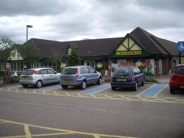 Morrisons' supermarket, Banchory