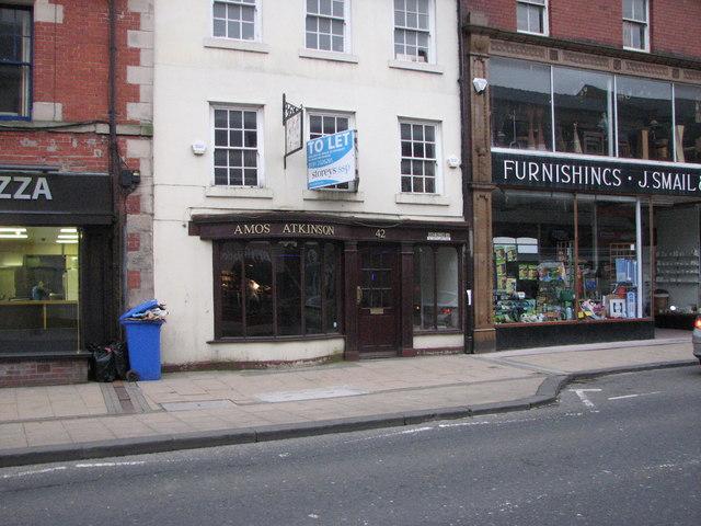 Amos Atkinson Shoe Shop