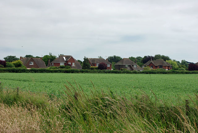 Houses on The Thatchway, Angmering