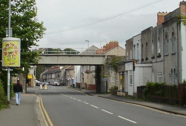 Railway bridge, Caerleon Road, Newport