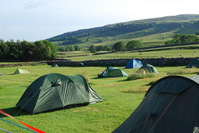 Campsite at Holme Farm