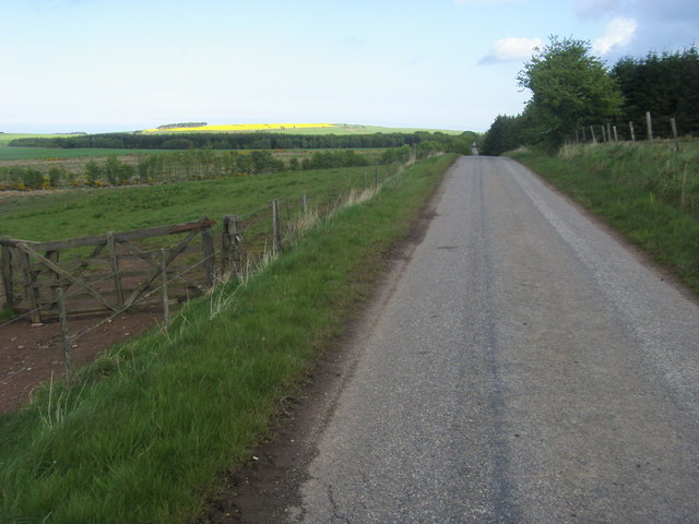 Road to Inverbervie