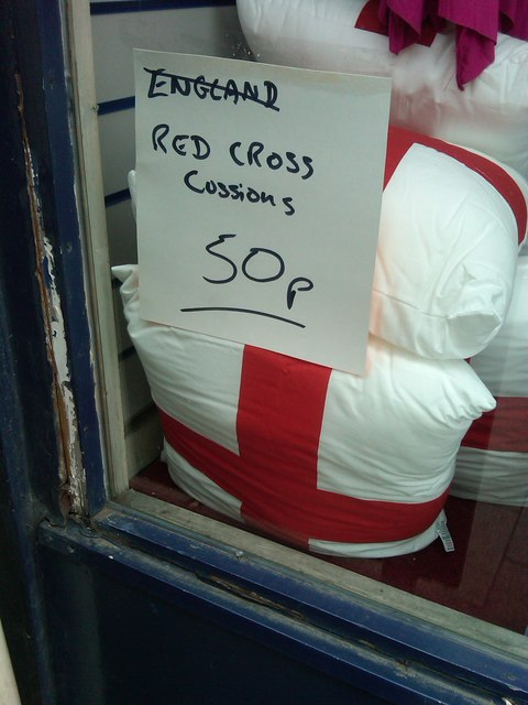 Red Cross Cushions