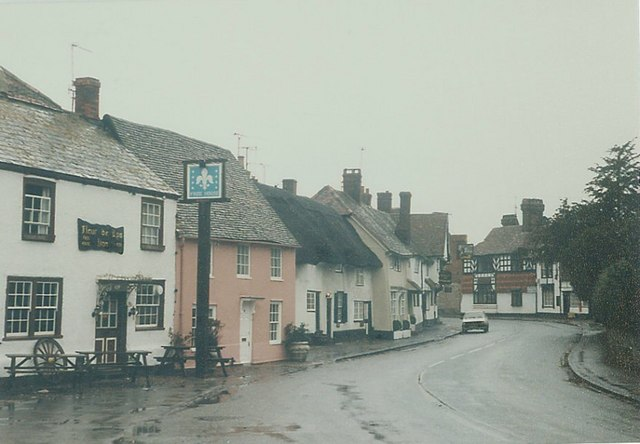 High Street, Dorchester (Oxon) in 1987