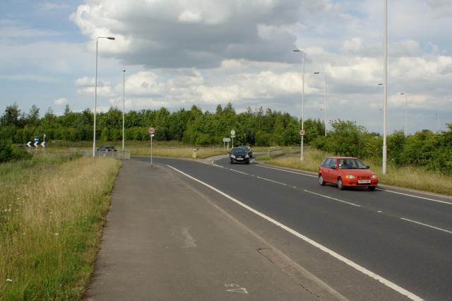 M1 Roundabout, A642 Garforth