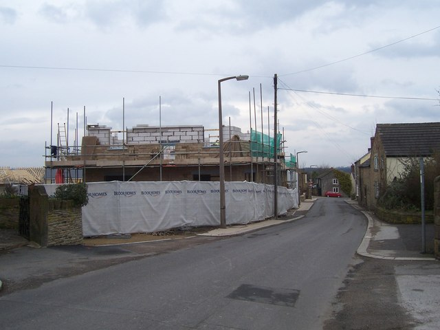 Building site on Thorpe Street