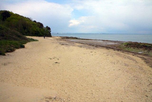 St Helen's Beach near Bembridge