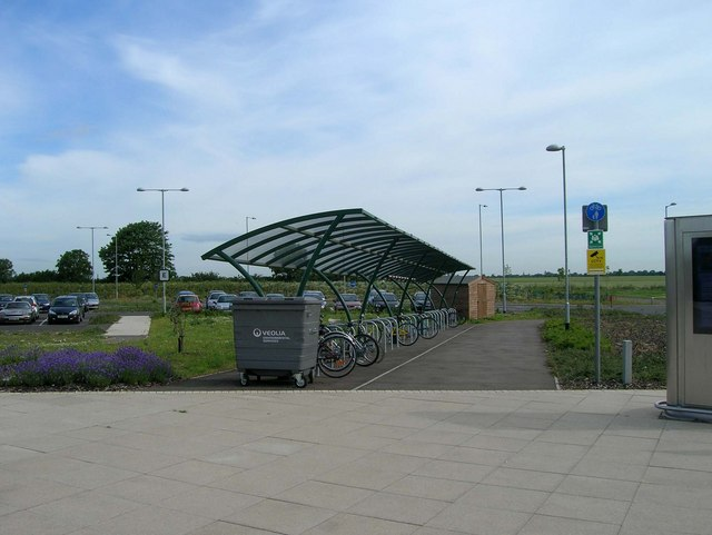 Bicycle racks, Milton Park & Ride