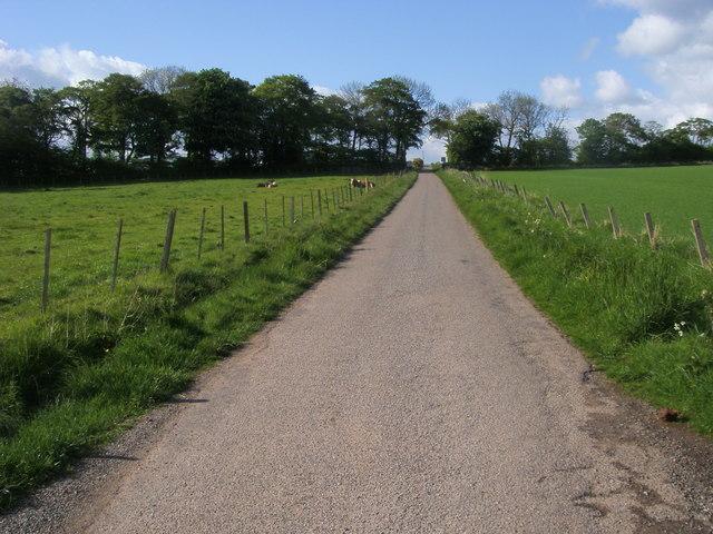 Lane up to Kair House