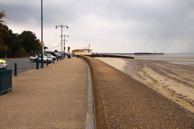 The promenade at Ryde