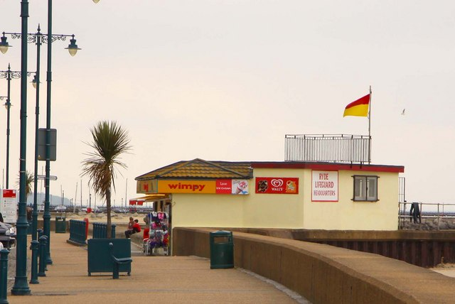 Wimpy Bar on the promenade