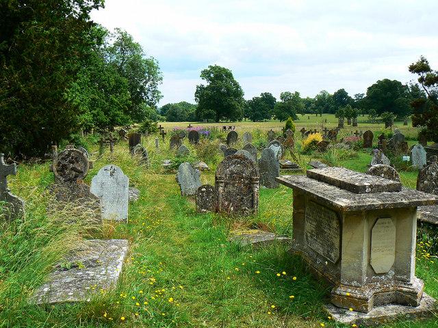 Churchyard, St Bartholomew's Church, Corsham