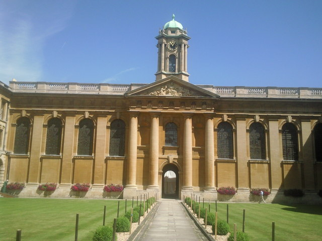 The Front Quad, Queen's College, Oxford