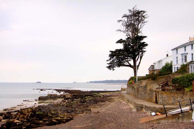 Coastal path at Nettlestone Point