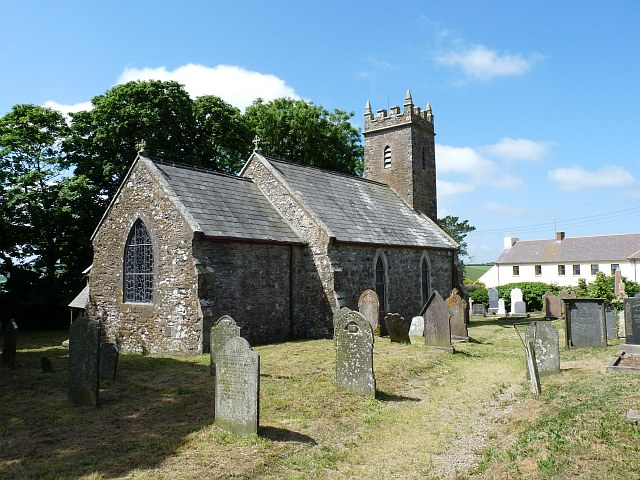 St. Cwrda's Church, Jordanston