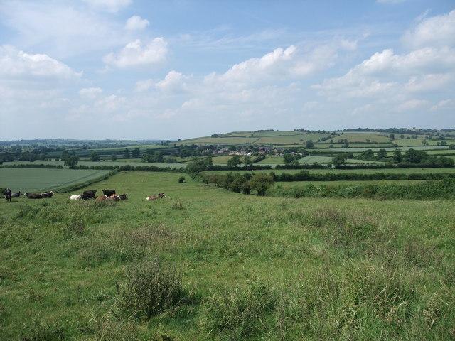 View towards Drayton from Bringhurst