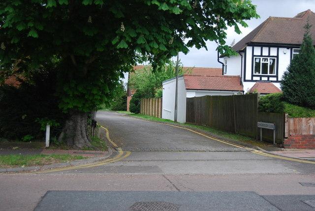 Gainsborough Close off Brackley Rd