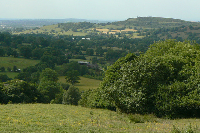 View from Higher Hardings