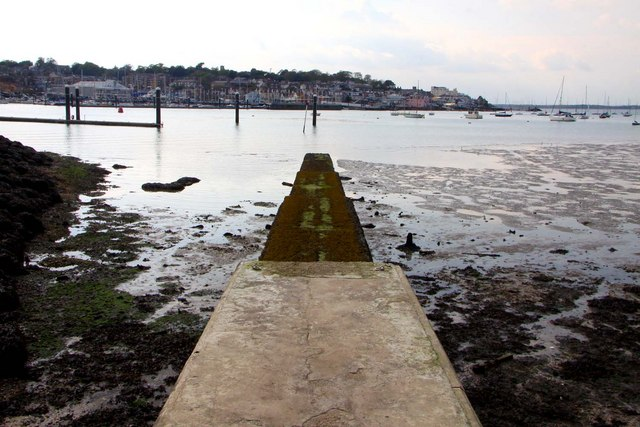 A jetty at East Cowes