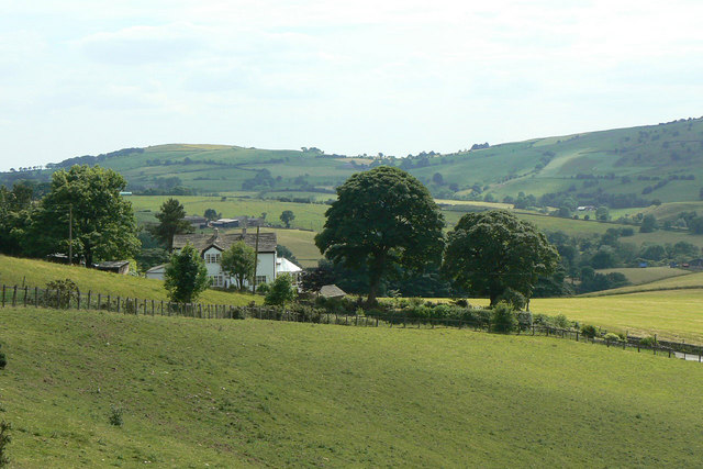 View near Higher Sutton