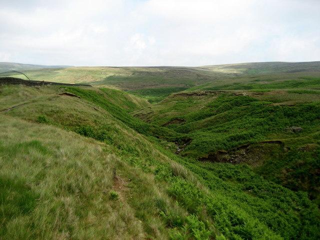 Saucer Hill Clough