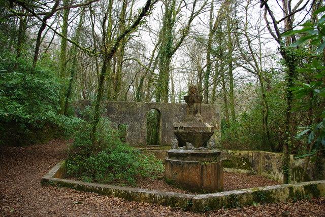 Fountain at Lerryn
