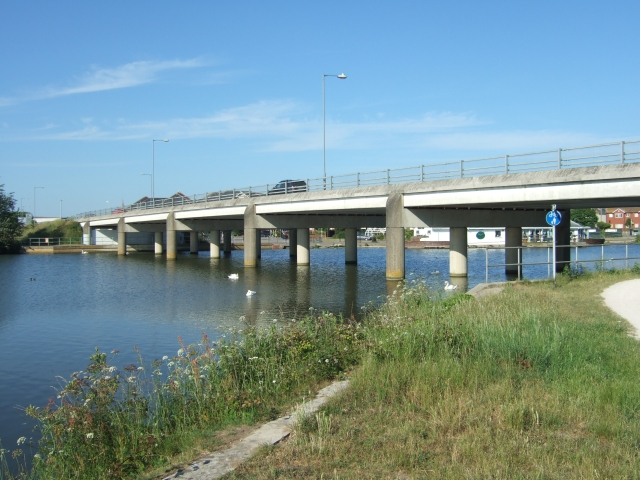 Bridge for the A353 in Weymouth