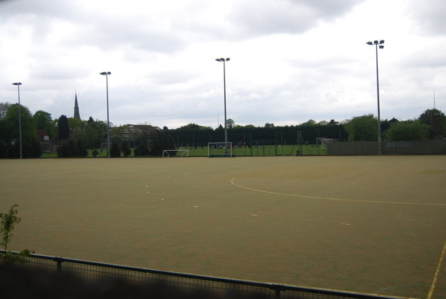 All weather pitch, New Beckenham Recreation Ground