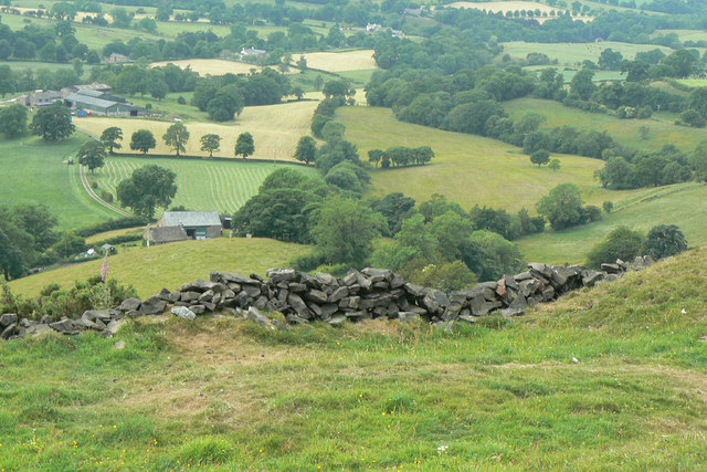 Looking down to Cophurst
