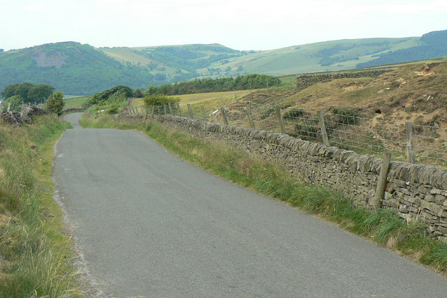 Road to Macclesfield
