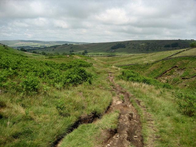 Path above Turnhole Clough