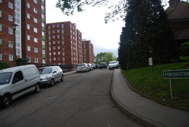 Towerblocks, Porchester Mead