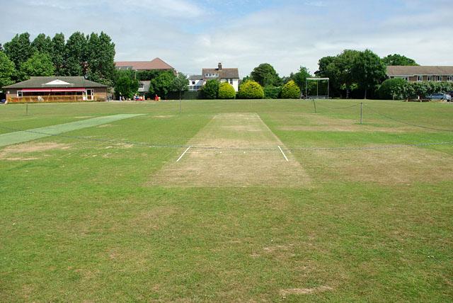 Cricket pitch, East Preston