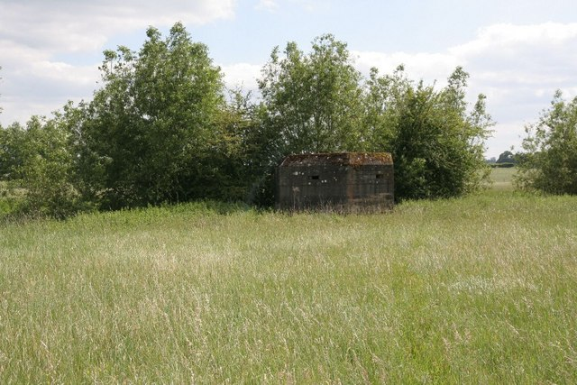 Pillbox by the bank
