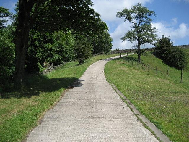 Access Lane to Dean House