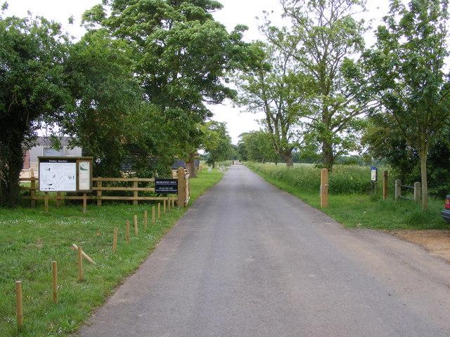 Bridleway by Searson's Farm
