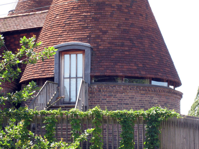 Glazed Eaves Detail of Church Farm Oast