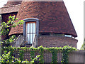 TQ7038 : Glazed Eaves Detail of Church Farm Oast by Oast House Archive
