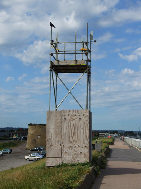 Watchtower at Dymchurch seafront